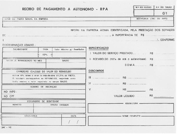 Related image with Modelo De Recibo Pagamento A Autnomo Rpa Picture
